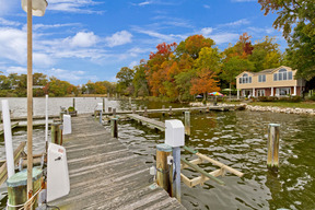 Extended Deep Water Pier & 15,000LB Boat Lift and 2-Jet Ski Lifts