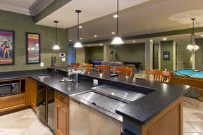 Lower Level Bar & Kitchen