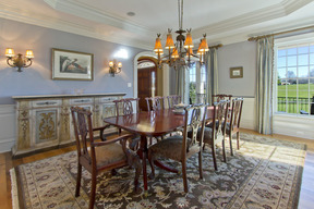 Formal Dining Room & Tray Ceiling