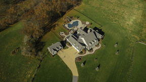 Aerial View of Residence