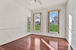Main Level En-suite Bedroom w/Private Entry, Brazilian Cherry Floors & Attached Bath