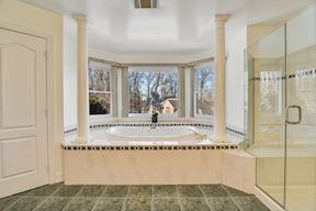 Master Bath, Linen Closet & Laundry Chute