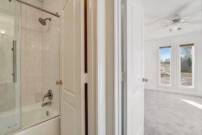 Shared Bath w/ Frameless Shower