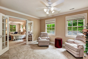 Sitting Room in Master Suite