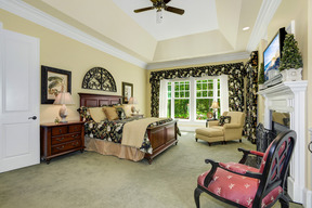 Main Level Master Bedroom Suite