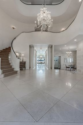 Three Storied Foyer