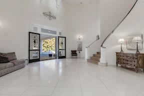 3-Storied Foyer & Curved Serpentine Stair