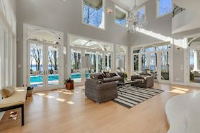 Waterside  Sun Room & Clerestory Windows