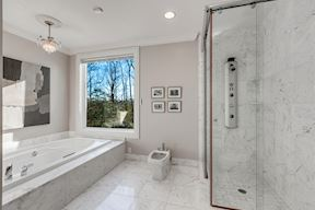 Luxury Master Bath #2 w/ Bidet & Separate Shower