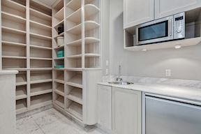 Luxury Master Dressing &  Wet Bar