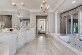 Luxury Master Suite #1 w/ Serpentine Curved Vanity