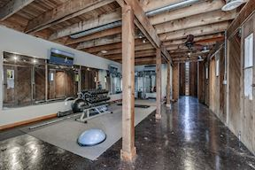 Interior Fitness Facility
