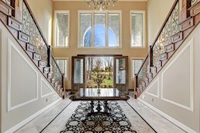 Extended Front-to-Back Foyer & Receiving