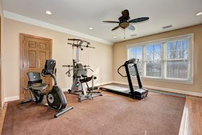 En-Suite Bedroom 3/ Exercise Room w/ Attached Full Bath