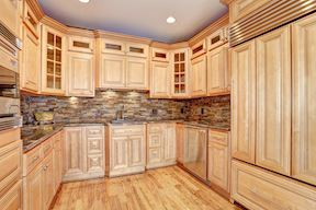 2nd Kitchen w/ Full Sized Paneled Refrigerator