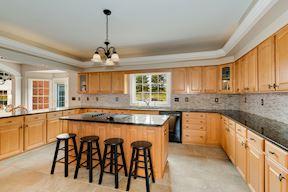 Wrap-Around Cook's Kitchen w/ Pastoral Views