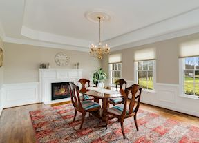Formal Dining Room w/ Tray Ceiling