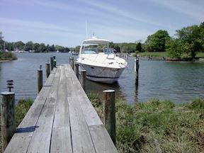 Private Pier & Slip in Quiet Cove Perfect for Boaters