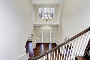 Grand Two Story Foyer