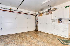 Garage w/ Built In Storage