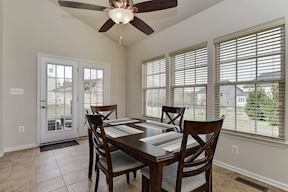 Breakfast Room with Access to Patio