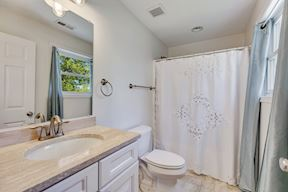 Private Attached Full  Bathroom