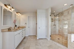 Luxury Master Bath Suite w/ Frame-less Shower