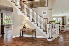 Front Stair &Two Story Foyer
