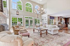 Great Room w/ Clerestory Windows