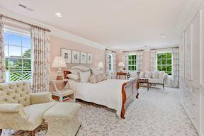 Luxury Master Bedroom Suite w/ Built-ins