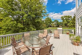 Dining Deck off of Kitchen & Great Room