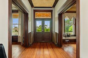 Bright Foyer w/ Orig. Hardwood Floors