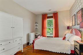 3rd Bedroom w/ Historic Decorative Corner Sink