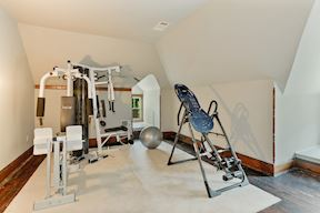 2nd Upper Level Exercise Room w/ Conveying Universal Gym