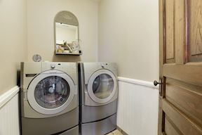 Upper Level Laundry Room w/ Kitchen Aid Front-Loading Washer & Dryer