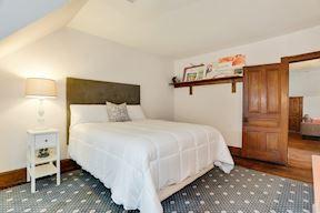 5th Bedroom w/ Window Seat & Open Closet