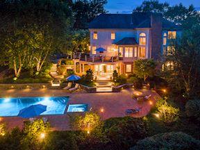 Night Lighting, Pool and Landscape