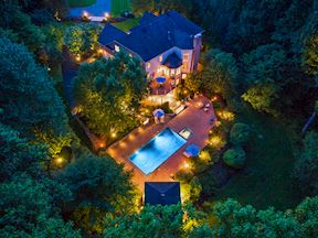 Aerial Night View