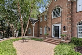 Brick Paver Entry Courtyard and Porch