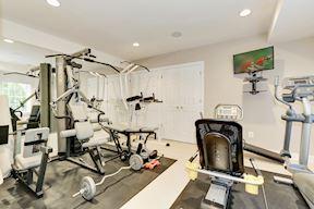 Lower Level Exercise/ Bedroom 6 Option
