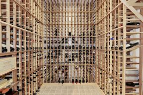 Conditioned and Insulated Wine Cellar