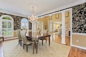 Formal Dining and  Plantation Shutters