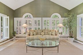 Sun Room and Plantation Shutters