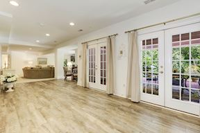 Lower Level Walk-out French Doors