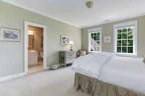 Upper Level EN-SUITE Bedroom Three with Private Attached Bath