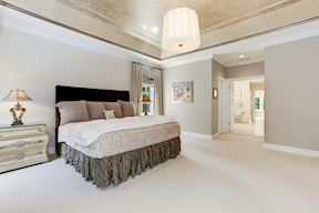 Master Suite with Dual Walk-in Closets