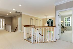 Upper Level Landing and Private Back Stair