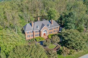 Aerial View of Supremely Private 1.2 Acre Lot