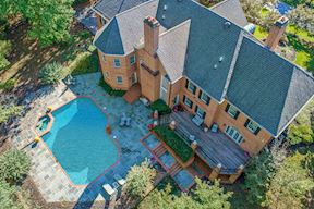 Aerial View of Private Rear & Pool