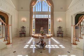 Tw-Story Foyer w/Feature Clerestory Window